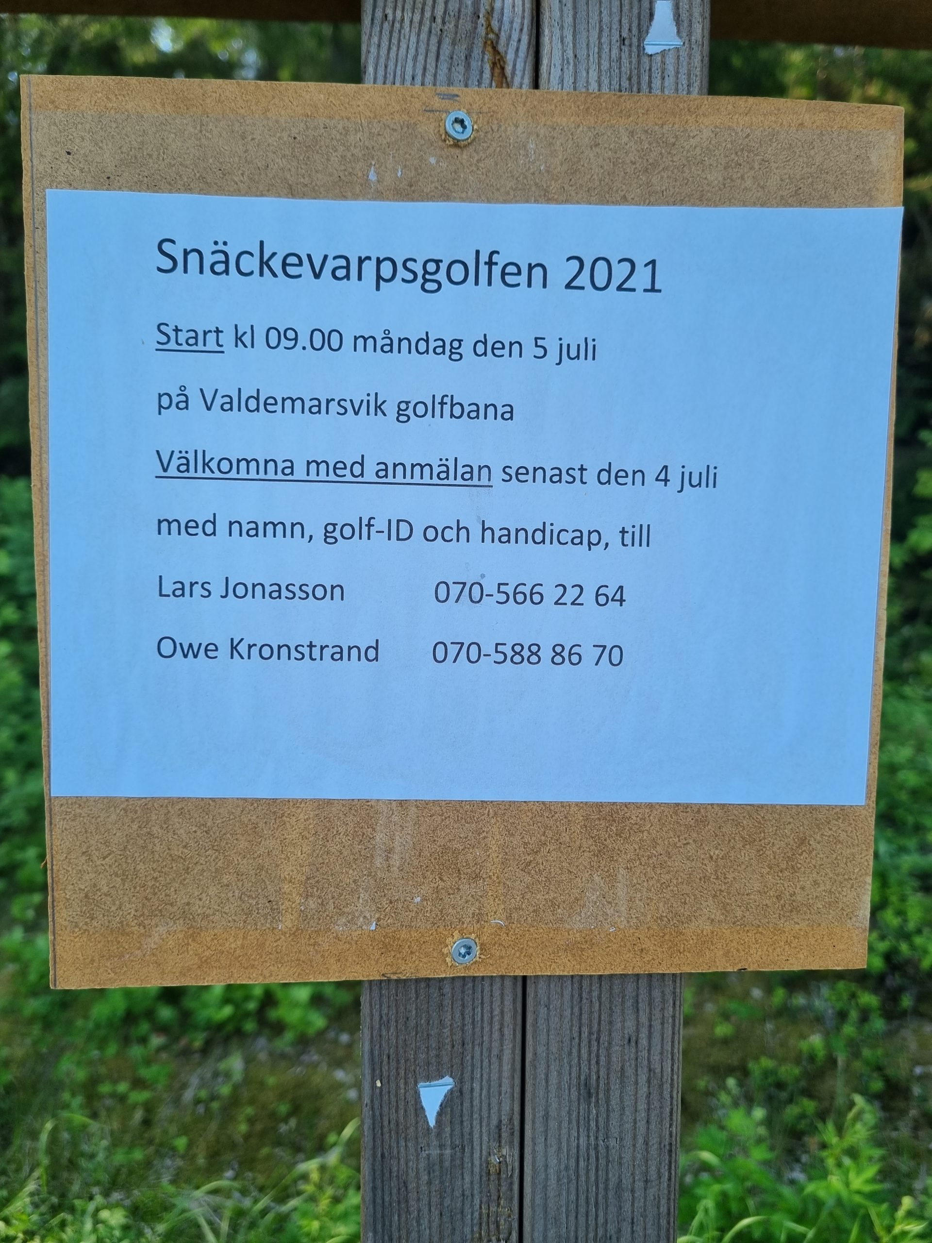 You are currently viewing Snäckevarpsgolfen 5 juli