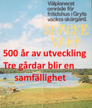 You are currently viewing Föredrag: Snäckevarp under 500 år!